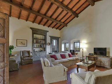 Gemütliches Ferienhaus : Region Montefiridolfi für 11 Personen
