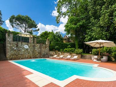 Gemütliches Ferienhaus : Region Orciatico für 6 Personen