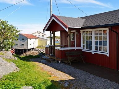 Gemütliches Ferienhaus : Region Nordland für 3 Personen