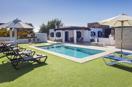 Gemütliches Ferienhaus : Region Ibiza für 6 Personen