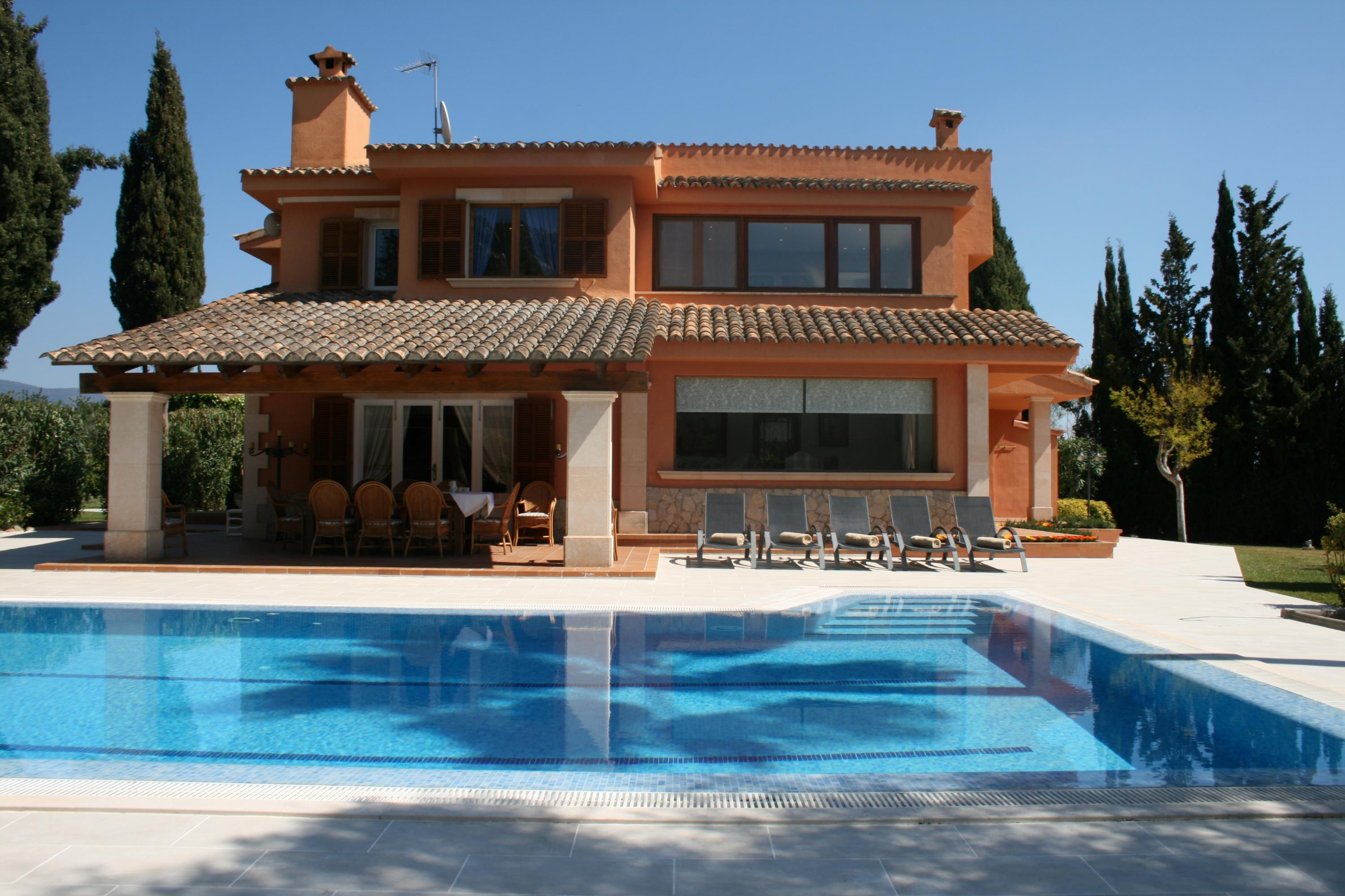 Ferienhaus mit Privatpool für 7 Personen ca.   in Spanien