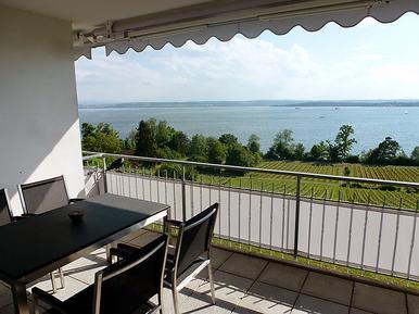 Für 4 Personen: Hübsches Apartment / Ferienwohnung in der Region Meersburg
