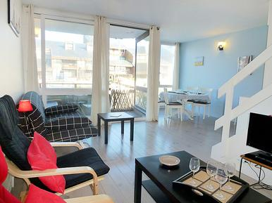 Für 4 Personen: Hübsches Apartment / Ferienwohnung in der Region Trouville-sur-Mer